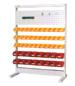 ハンガーシステム。ラインテーブル間口900から1200まで、サイズや・オプションを作業に合わせてお選び下さい。