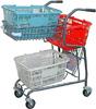 ショッピングカート 大容量カート・デザインカート・機能的カート